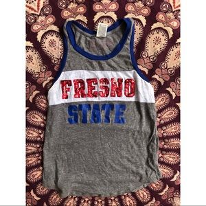 PINK Victoria's Secret Tops - PINK Fresno State Bulldogs Tank